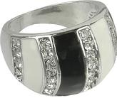 Striped Enamel Ring
