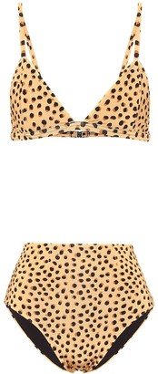Haight Bia leopard-print bikini