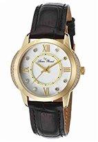 Lucien Piccard Women's LP-40001-YG-02S Dalida Analog Display Quartz Black Watch