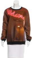 Maison Margiela Screenprint Long Sleeve Sweatshirt