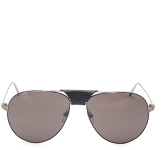 Cartier Santos Aerien Aviator Sunglasses
