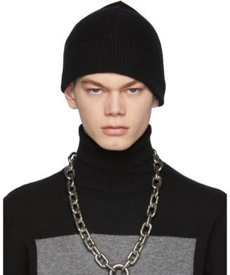 Random Identities Black Cashmere Beanie