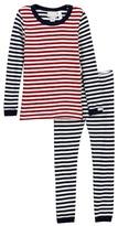 Coccoli Striped Pajamas (Toddler & Little Boys)