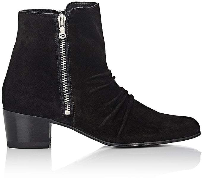 Amiri Women's Skinny Stack Suede Ankle Boots