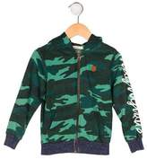 Scotch Shrunk Boys' Camouflage Zip-Up Hoodie w/ Tags