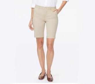 NYDJ Twill Bermuda Shorts