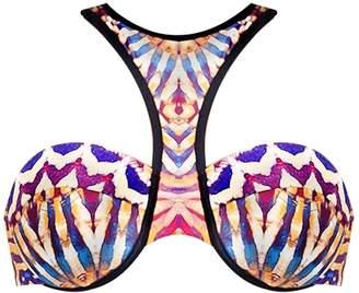 Andrea Iyamah Fawn Bikini Top
