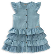 Calvin Klein Tiered Denim Dress