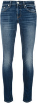 Rag & Bone Jean - lightly distressed skinny jeans - women - Cotton/Polyurethane - 24