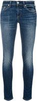 Rag & Bone Jean - lightly distressed skinny jeans - women - Cotton/Polyurethane - 24