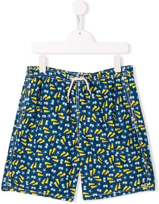 MC2 Saint Barth Kids TEEN Jean swim shorts