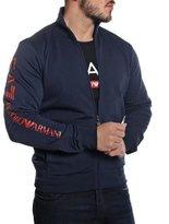 Emporio Armani EA7 Men's Zip Up Sweatshirt 6P208 - , XXL