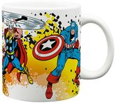 Zak Designs Marvel Superhero Coffee Mug by