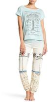 PJ Salvage St. Tropez Travels Banded Pants