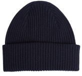 Paul Smith Shoes & Accessories Ribbed-knit Cashmere Beanie Hat