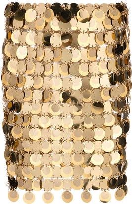 Paco Rabanne sequin mini skirt