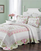 Martha Stewart Collection Cotton Emmeline Twin Bedspread, Created for Macy's