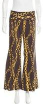 Dolce & Gabbana Wide-Leg Chain Print Pants