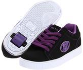 Heelys Straight Up (Little Kid/Big Kid/Adult) (Black/Purple/White) - Footwear