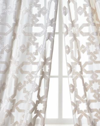 """Dian Austin Couture Home Urban Cut Curtain, 96"""""""