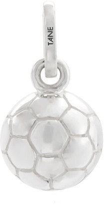 Tane Exquisitely Detailed Ball Charm Handmade In Sterling Silver