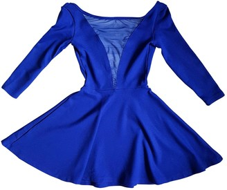 American Apparel Blue Cotton Dress for Women