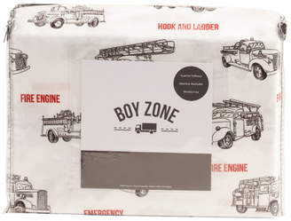 Sketched Firetrucks Sheet Set