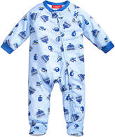 Family Pajamas 1-Pc Dreidel Hanukkah Footed Pajamas, Baby Boys' or Baby Girls' (12-24 months) & Toddler Boys' or Toddler Girls' (2T-3T) Created for Macy's