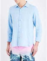 Orlebar Brown Meden Classic-fit Linen Shirt