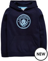 Manchester City Source Lab Fc Junior Raglan Fleece Hoody