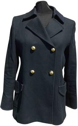 Paul & Joe Black Cotton Coat for Women
