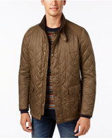 Barbour Men's Tiller Quilted Snap-Tab Jacket