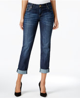 KUT from the Kloth Petite Catherine Gratitude Wash Boyfriend Jeans