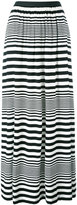 I'M Isola Marras striped maxi skirt - women - Spandex/Elastane/Viscose - XS