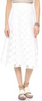 Milly Pocket Midi Full Skirt