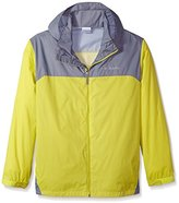 Columbia Men's Big & Tall Glennaker Lake Packable Rain Jacket, Super Sonic/Shark, 4X