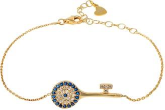 Latelita Evil Eye Key Bracelet Gold