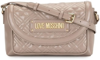 Love Moschino Quilted Pocket Crossbody Bag