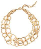 Saks Fifth Avenue Circular Link Necklace