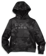 Ralph Lauren Boy's Camo Hooded Sweatshirt