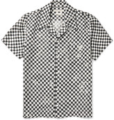 Marc Jacobs - Camp-collar Printed Silk-twill Shirt