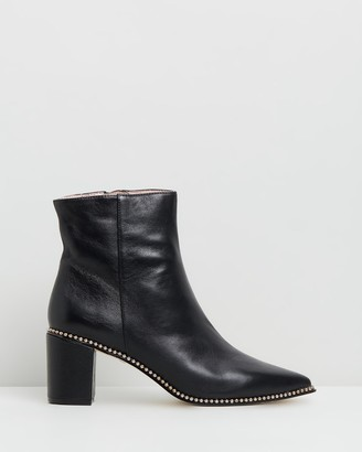 Robert Robert - Women's Black Heeled Boots - Harry - Size One Size, 36 at The Iconic