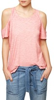 Sanctuary Women's 'Lou' Cold Shoulder Tee