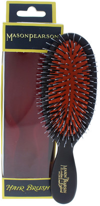 Mason Pearson #Bn4 Dark Ruby Pocket Bristle & Nylon Brush