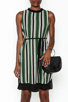 Everly Vertical Stripes Dress