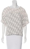 IRO Otto Patterned Top