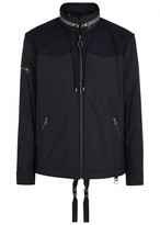 Lanvin Midnight Blue Hooded Shell Jacket