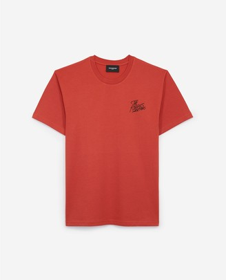 The Kooples Red cotton T-shirt by Paris