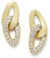 Ippolita 18K Cherish Interlaced Stud Earrings with Diamonds