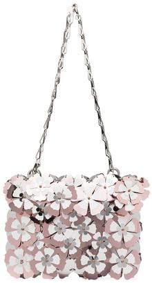 Paco Rabanne Flower-Embellished Shoulder Bag